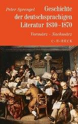 Geschichte der deutschen Literatur von den Anfängen bis zur Gegenwart: Geschichte der deutschen Literatur  Bd. 8: Geschichte der deutschsprachigen Literatur 1830-1870