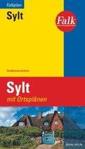 Falk Touristplan Sylt 1:40 000 mit Ortsplänen als Citypläne/Touristplan