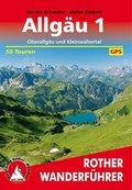 Rother Wanderführer Allgäu - Bd.1
