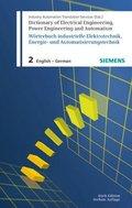 Wörterbuch industrielle Elektrotechnik, Energie- und Automatisierungstechnik: Englisch-Deutsch / Englisch-German; Bd.2