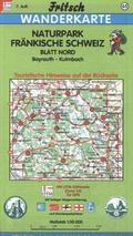Fritsch Karte - Naturpark Fränkische Schweiz, Blatt Nord