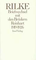 Briefwechsel mit den Brüdern Reinhart 1919-1926