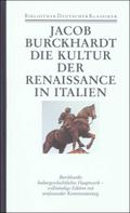 Bibliothek der Geschichte und Politik: Die Kultur der Renaissance in Italien; 8