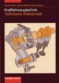 Kraftfahrzeugtechnik, Technische Mathematik: Lehrbuch
