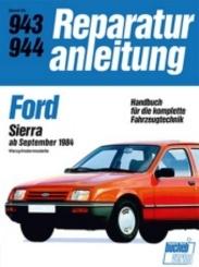 Ford Sierra ab September 1984