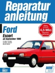 Ford Escort ab September 1986