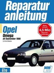 Opel Omega   ab September 1986; .