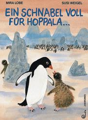 Ein Schnabel voll für Hoppala . . .
