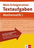 Mein Erfolgstrainer Textaufgaben, Mathematik. 5. Schuljahr