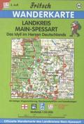 Fritsch Karte - Landkreis Main-Spessart