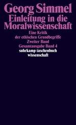 Einleitung in die Moralwissenschaft - Bd.2