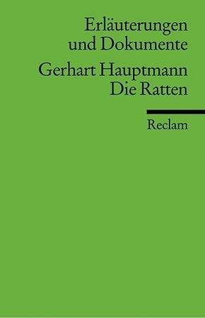Gerhart Hauptmann 'Die Ratten'