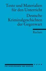 Deutsche Kriminalgeschichten der Gegenwart