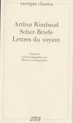 Lettres du voyant - Seherbriefe