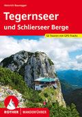 Rother Wanderführer Tegernseer und Schlierseer Berge