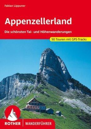 Rother Wanderführer Appenzellerland