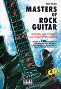 Masters of Rock Guitar, m. Audio-CD