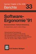 Software-Ergonomie '91