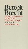 Werke, Große kommentierte Berliner und Frankfurter Ausgabe: Schriften; Bd.24 - Tl.4
