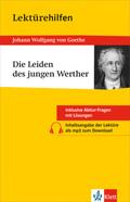 Lektürehilfen Johann Wolfgang von Goethe 'Die Leiden des jungen Werther'