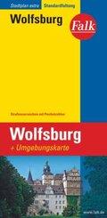 Falk Plan Wolfsburg