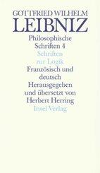 Schriften zur Logik und zur philosophischen Grundlegung von Mathematik und Naturwissenschaft