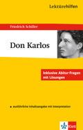 Lektürehilfen Friedrich Schiller 'Don Carlos'