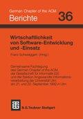 Wirtschaftlichkeit von Software-Entwicklung und Software-Einsatz