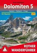 Dolomiten, Sexten - Toblach - Prags. 52 Touren. Mit GPS-Tracks