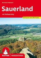 Rother Wanderführer Sauerland; .