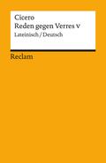 Reden gegen Verres, Lateinisch-Deutsch - Bd.5