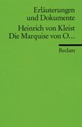 Heinrich von Kleist 'Die Marquise von O . . .'