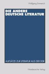 Die andere deutsche Literatur