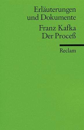 Franz Kafka 'Der Proceß'