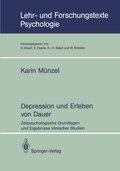 Depressionen und Erleben von Dauer