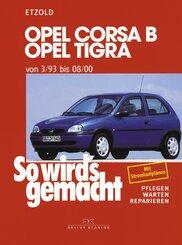 Opel Corsa B, Opel Tigra von 3/93 bis 08/00