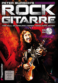 Peter Bursch's Rock Gitarre, m. Audio-CD + DVD