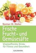 Frische Fruchtsäfte und Gemüsesäfte