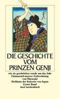 Die Geschichte vom Prinzen Genji, 2 Bde.