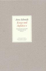 Werke, Bargfelder Ausgabe, Werkgr.3: Essays und Aufsätze - Tl.1