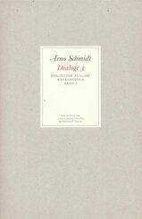 Werke, Bargfelder Ausgabe, Werkgr.2,: Schlotter, Joyce, May, Frenssen, Stifter, Gutzkow, Lafontaine, Joyce, Collins, Bulwer, Spindler; Bd.3