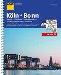 ADAC Stadtatlas: Großraum Städte- und Gemeindeatlas Köln, Bonn