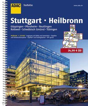 ADAC Stadtatlas Stuttgart, Heilbronn