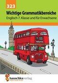 Englisch, Wichtige Grammatikbereiche: 3. Englischjahr