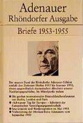 Rhöndorfer Ausgabe, Ln.: Briefe 1953-1955