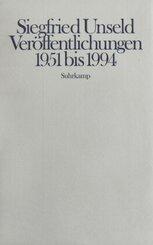 Veröffentlichungen 1951 bis 1994