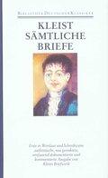 Sämtliche Werke und Briefe, 4 Bde., Ln: Briefe von und an Heinrich von Kleist 1793-1811; Bd.4