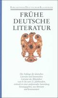 Frühe deutsche Literatur und lateinische Literatur in Deutschland 800-1150