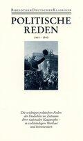 Bibliothek der Geschichte und Politik: Politische Reden; Zusatzband - Tl.3
