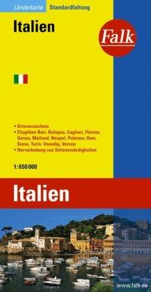 Falk Plan Italien; Italia; Italy